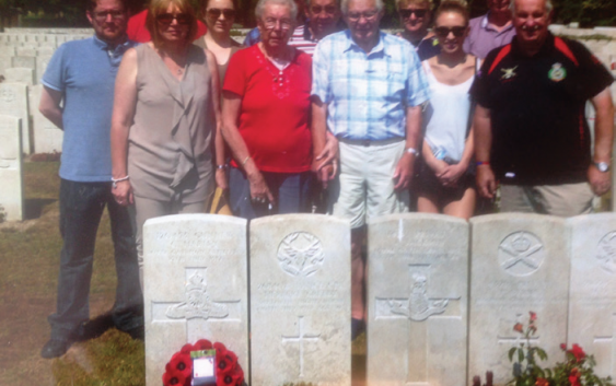 Remembering Bill Sharp's Uncles – 100 years after Passchendaele