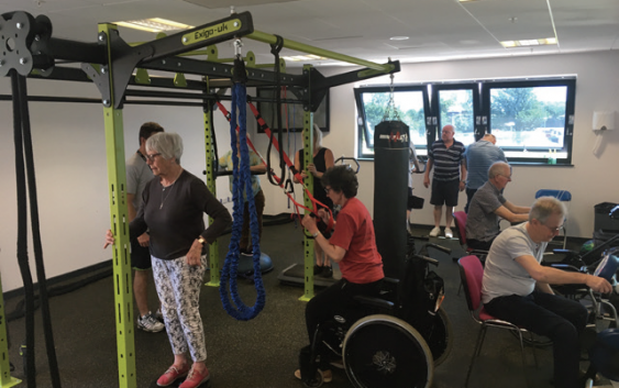 Littleport Leisure hosts an exercise class for Cambridge MS Society every Monday Morning!