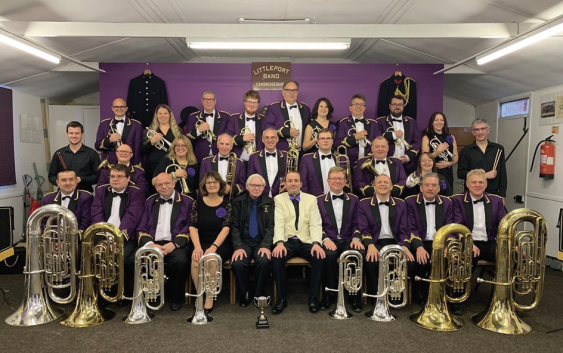 Littleport Brass Gets Into The Groove