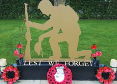 The Dedication of the Garden of Remembrance at Littleport Cemetery 15 May 2021